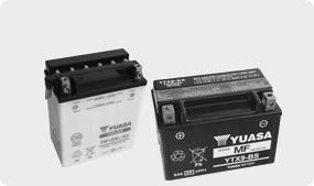 Motocyklové batérie